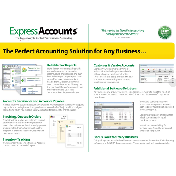 NCH Software Express Accounts - Nch invoice software